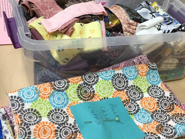 Fabric for DAIS pillowcases