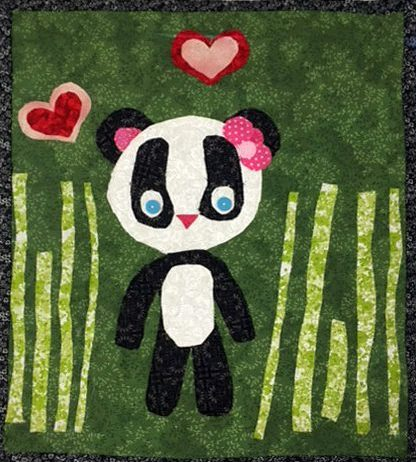 Allied Drive Learning Center Panda Embroidery Art