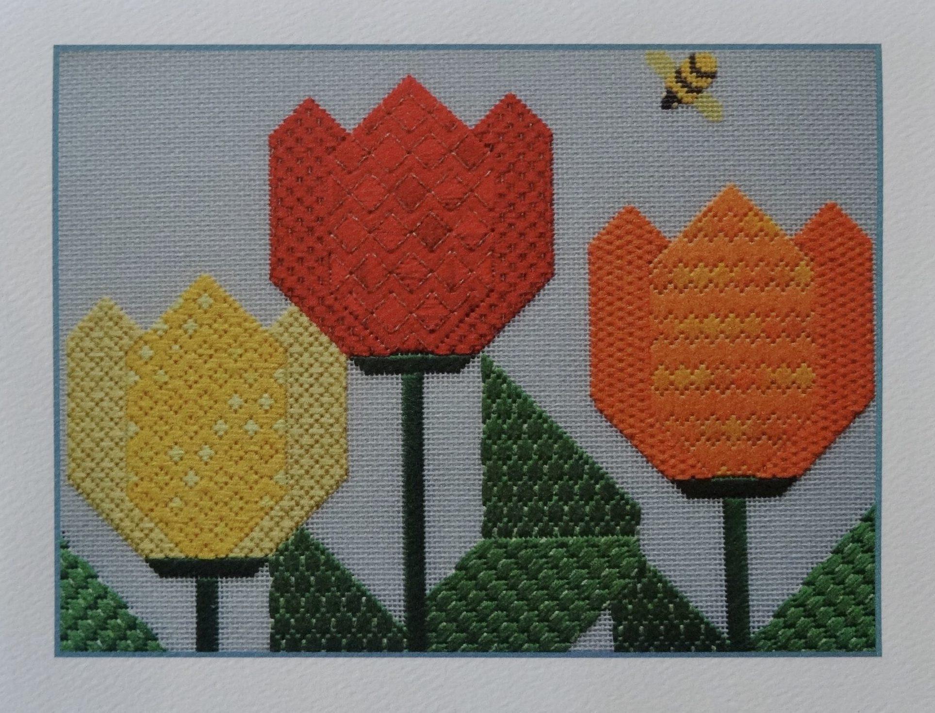 NoteCard-Single-Tulip Trio